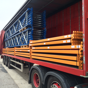 Industrial racking deliveries