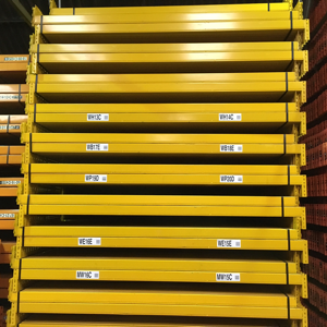 Used pallet racking frames and beams