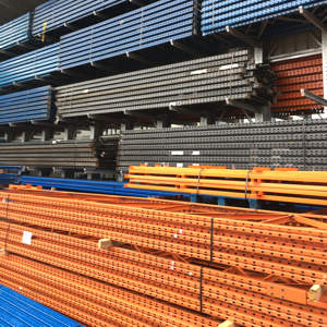 Used pallet racking frames